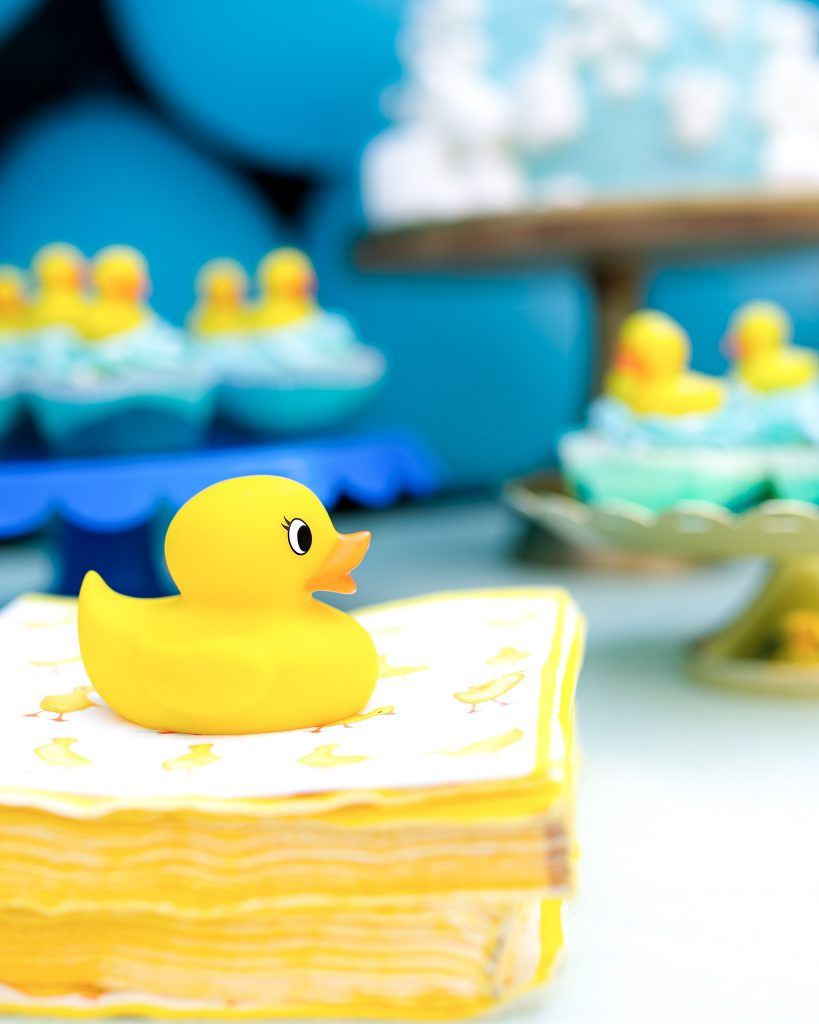 Rubber Duck Birthday Party details