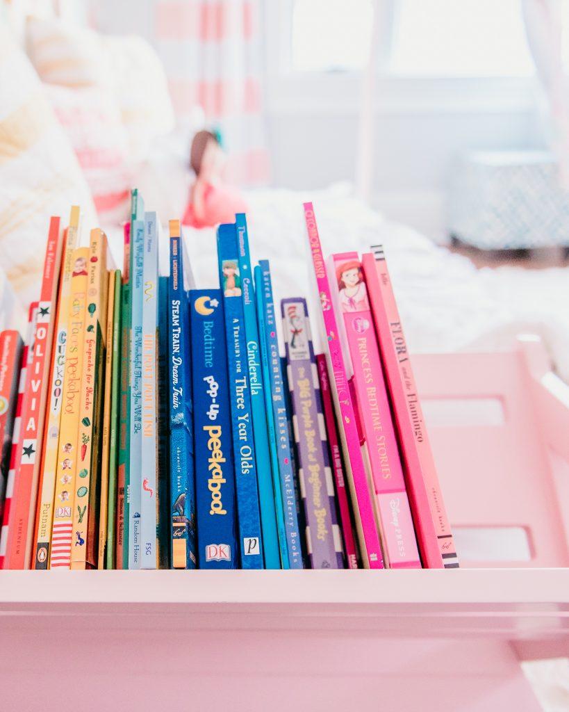 Book organization | JessicaEtCetera.com | Lifestyle, Childhood & Photography Blog by Jessica Grant