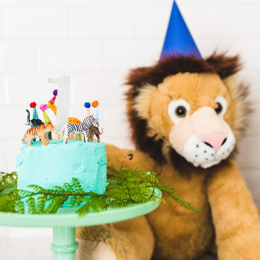 Party Animal Wild One Birthday Party decor ideas. Party animal cake