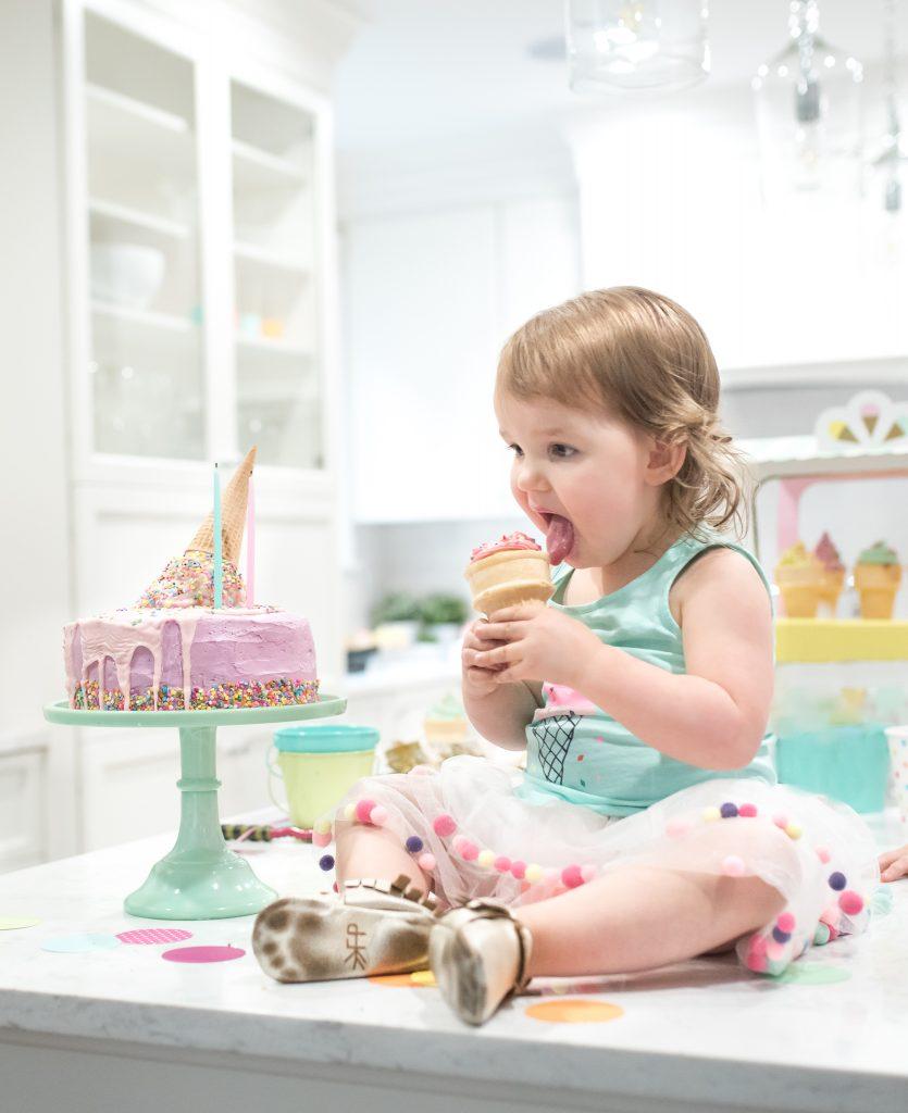 Ice Cream cupcake cone