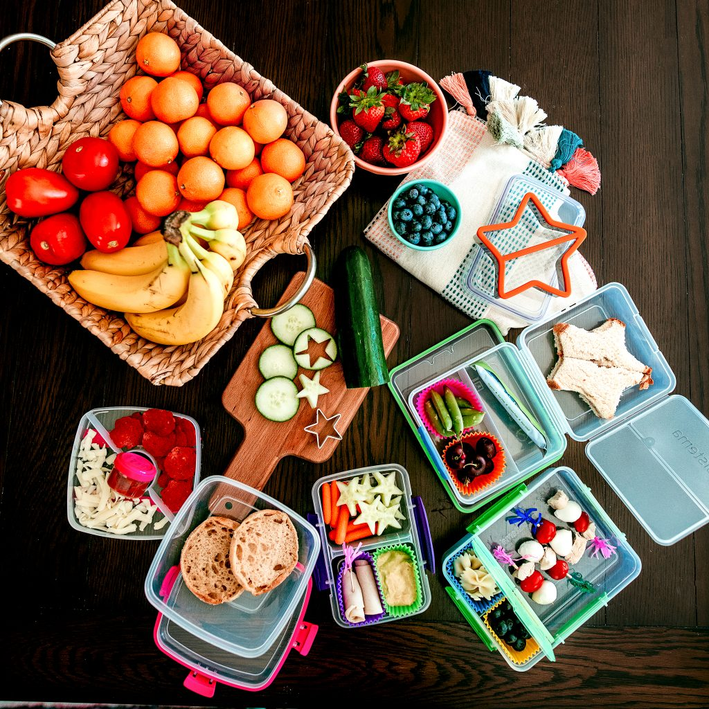 A week's worth of easy lunches for kids!