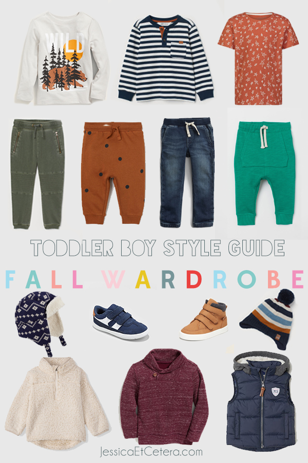 Toddler Boy Fall Style Guide