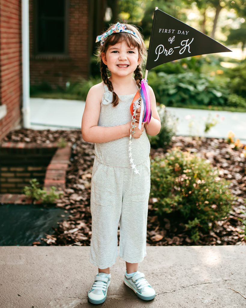 First Day of School Photo | JessicaEtCetera.com | Lifestyle, Childhood & Photography Blog by Jessica Grant