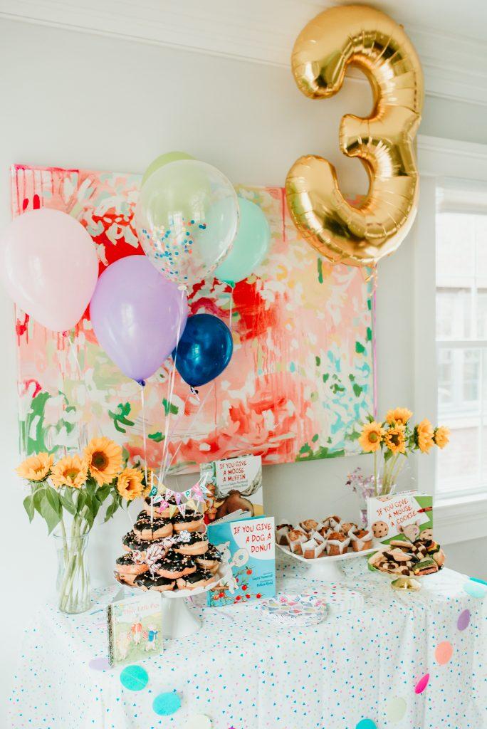 Storybook Birthday Brunch decor