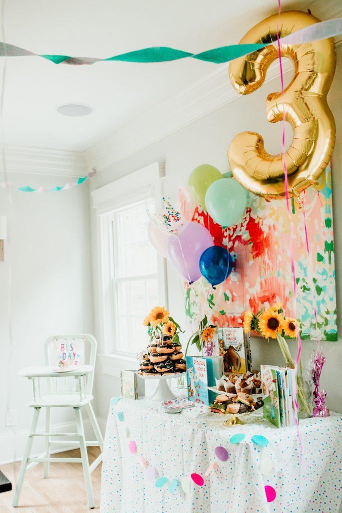 Storybook Birthday Brunch birthday party