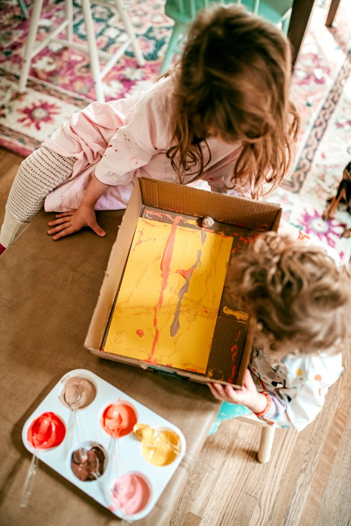 Fall Toddler Art Project