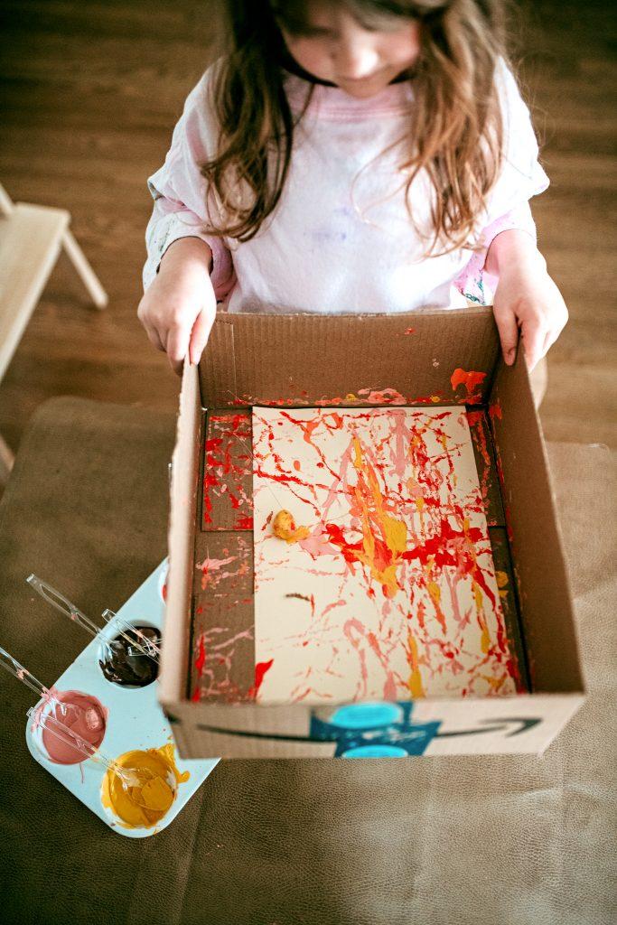 Fall Colors Preschool Art Project