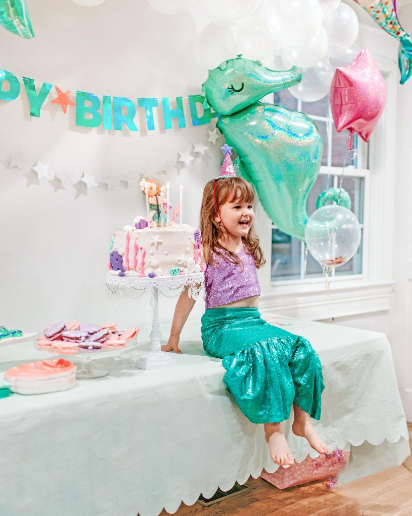 Mermaid Birthday Party Birthday Girl