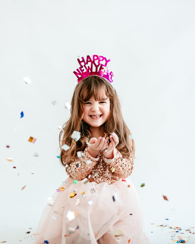 Confetti Photoshoot; New Years