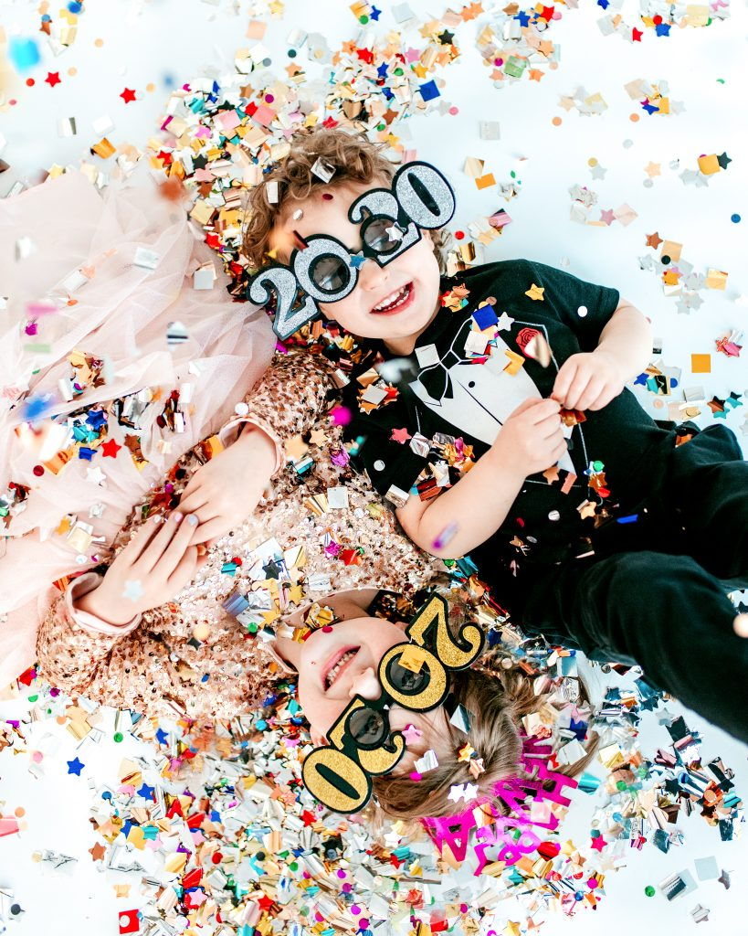 Confetti Photoshoot for the New Year!