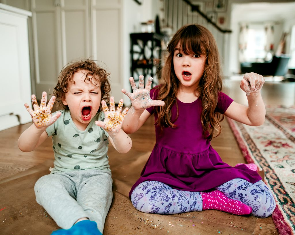 A simple and fun hands-on activity to teach your kids about germs, how they spread, and effective handwashing to get rid of them!