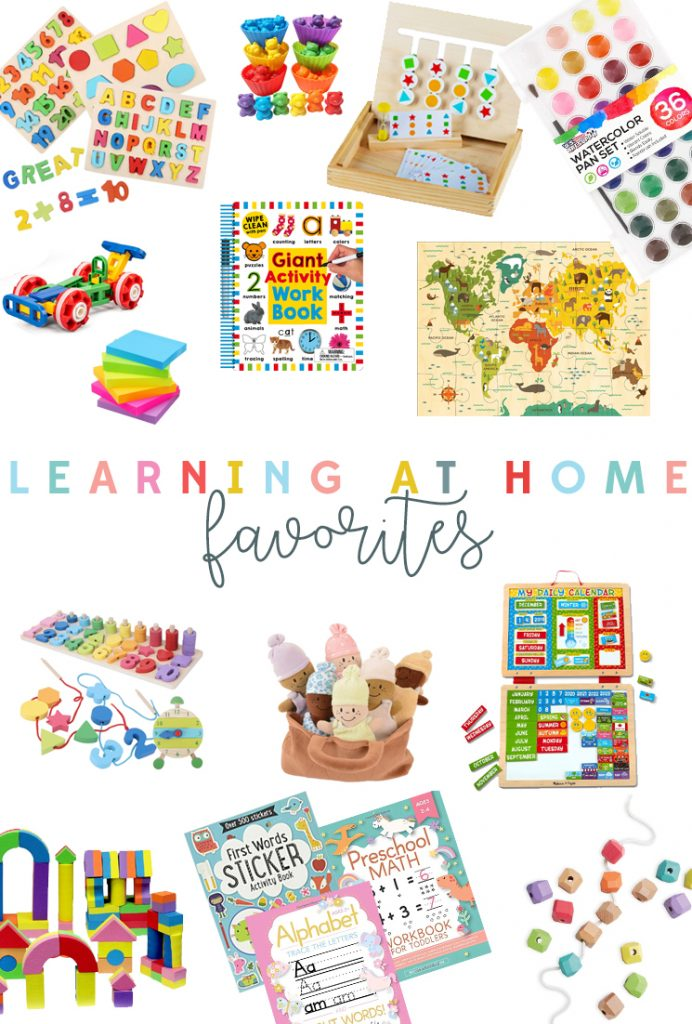 My favorite educational tools, games, and resources for learning at home!