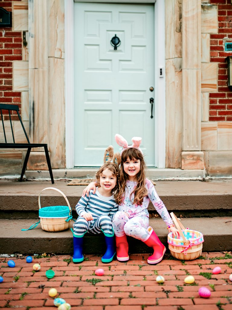 Celebrate Easter at home with kids. Activities, crafts, and snack ideas to make Easter at home special!