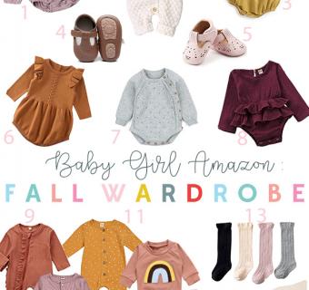 Baby Girl Amazon Fall Fashion Finds
