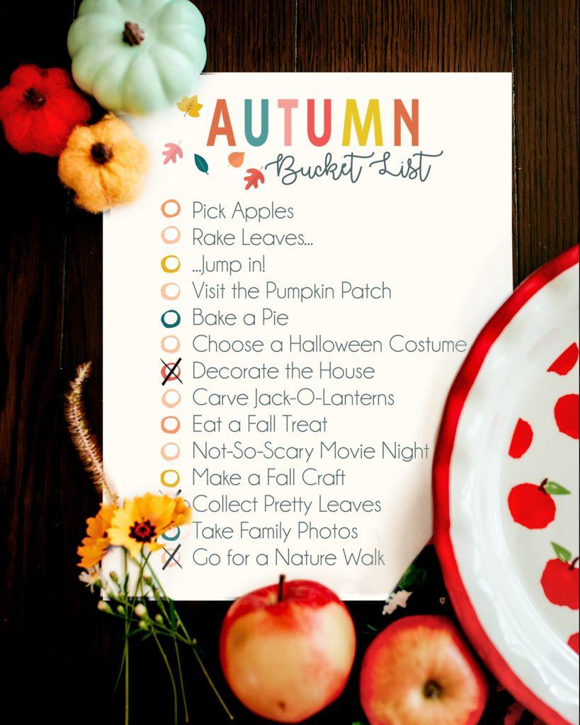Ideas of fun fall activities to do as a family!