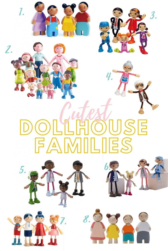 Looking for the cute dollhouse families? Check this out!! Cute and diverse doll families for your dollhouse. Check out these DIY tips for renovating your dollhouse