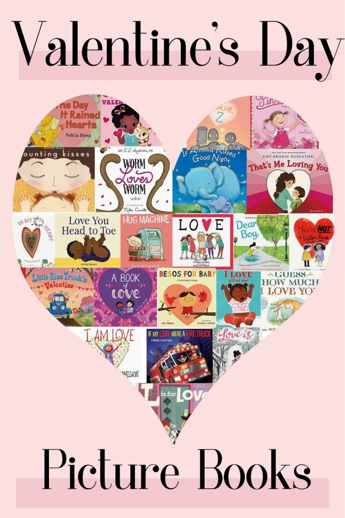A collection of Valentine's Day Kids Books. Our favorite February children's picture books about Love and Kindness!