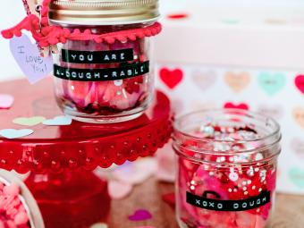Playdough Valentine DIY