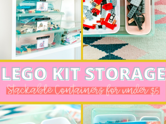 Lego Storage Ideas for Kits