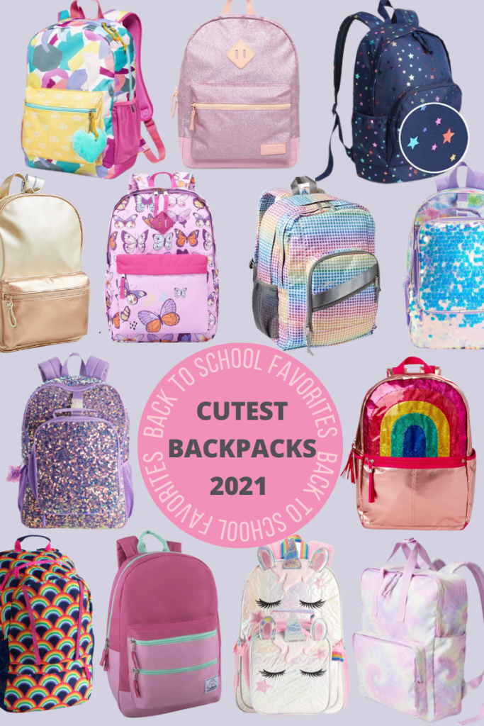 Looking for cute kids backpacks for girls in 2021? Shop a collection full of bright colors, magical prints, and sparkles that will fit any budget!