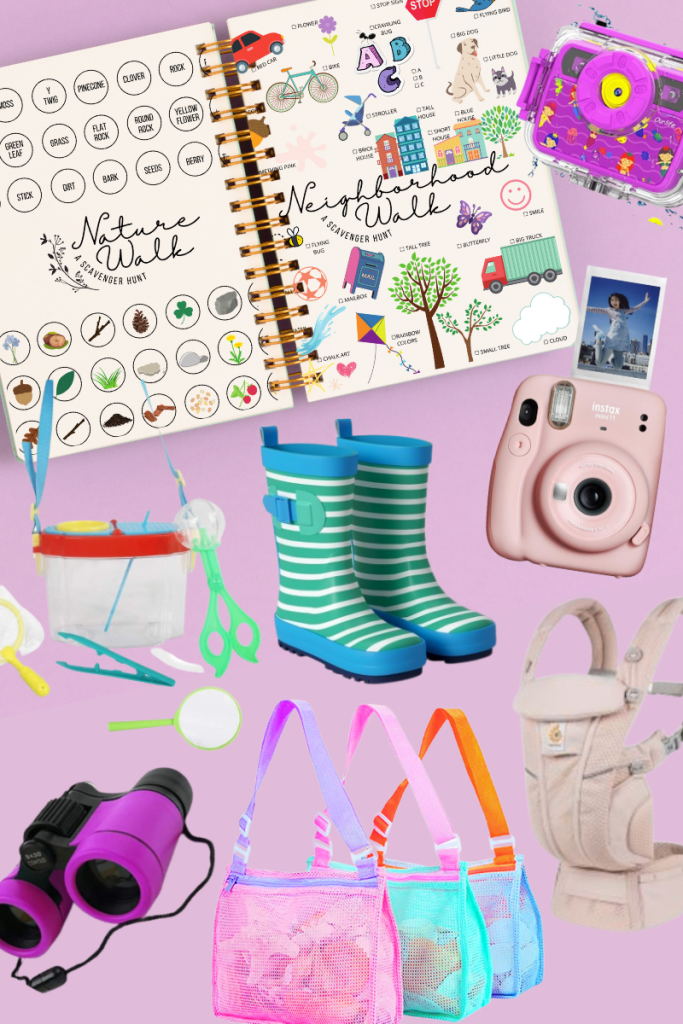 Become an explorer with these accessories and get ready for an outdoor adventure! Print two free scavenger hunt for kids list now!