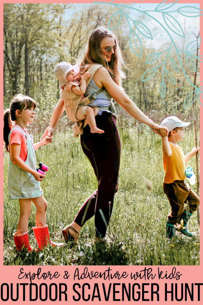 Outdoor Scavenger Hunts for families! Free printables