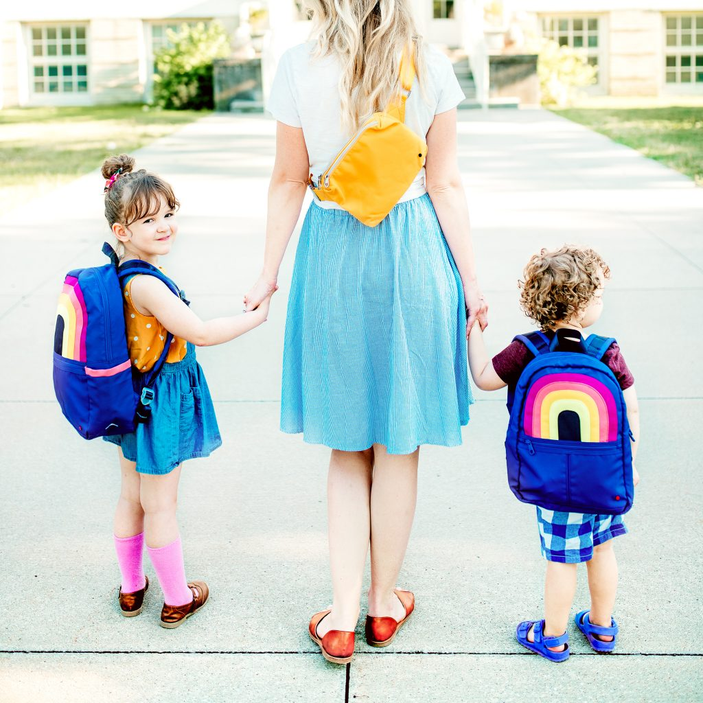 Here are some steps you can be taking to make sure the first day of school goes great! Tips for how to prepare your little ones for their first day of preschool, kindergarten, and beyond!