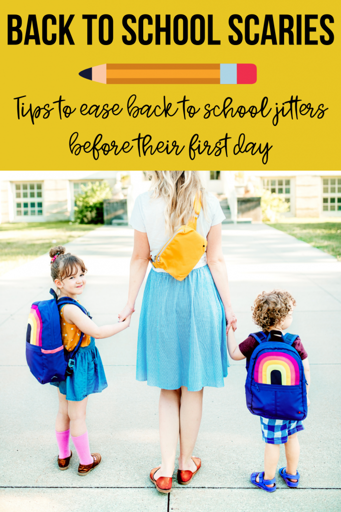 A guide on how to prepare for the first day of school!