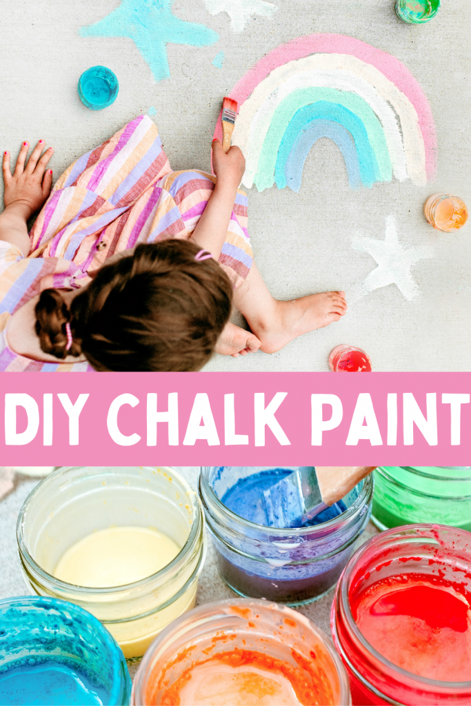 Make this simple sidewalk chalk paint with broken and leftover pieces of chalk. Fun outdoor sidewalk chalk art activity for kids and toddlers!